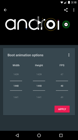 Boot Animations